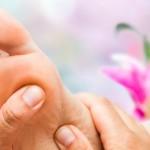 Massage de refléxologie