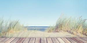 Nature, plage, ciel bleu