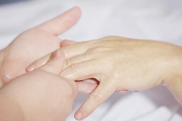 Réflexothérapie des mains